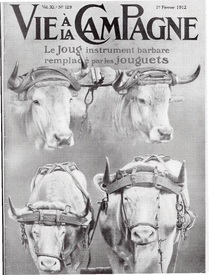 Couverture de Vie à la Campagne, vol. XI, n° 129 du 1er février 1912. retravaillé